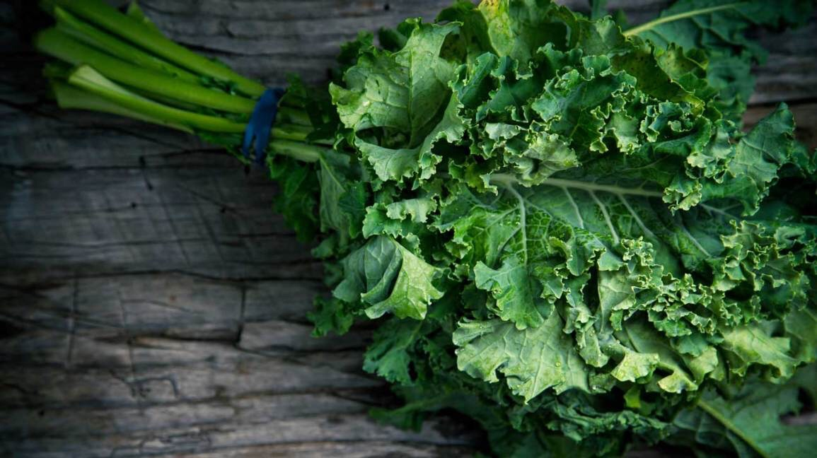 Falling head over heals for this…. Kale salad!